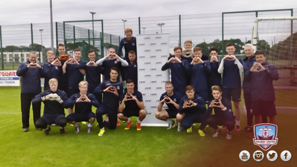 Galway United support World Heart Day with Croi Heart & Stroke