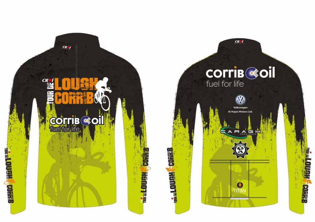2018 Tour de Lough Corrib Cycle Jersey