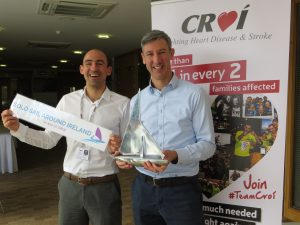 Richard Hayes Solo Sail around Ireland in aid of Croí Heart and Stroke