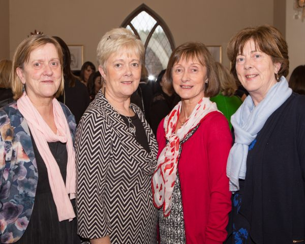 "Sisters Ann Henegan, Headford, Nora Keane, Corandulla, Mary Higgins, Headford Road and Bernie Conway, Corandulla pictured at Galway Clinics ""Afternoon Tea in aid of Croí"", at the Glenlo Abbey Hotel. Photo Martina Regan"