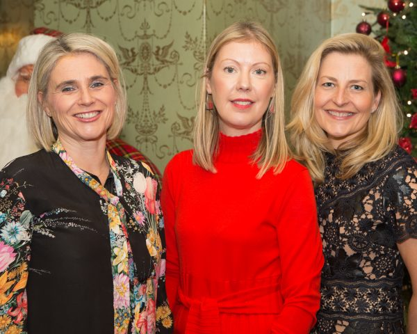 "Catherine Fleming, Therese Kelly and Carmel Malone pictured at Galway Clinics ""Afternoon Tea in aid of Croí"", at the Glenlo Abbey Hotel. Photo Martina Regan"