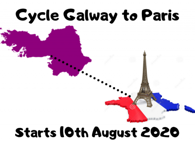 Cycle Galway to Paris