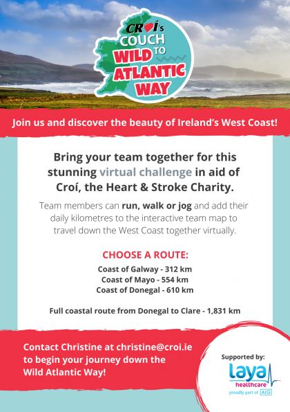Team Flyers - Couch to Wild Atlantic Way