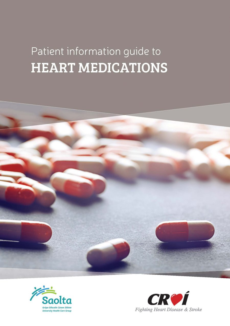 Patient information guide to HEART MEDICATIONS  (CROÍ BOOKLET)